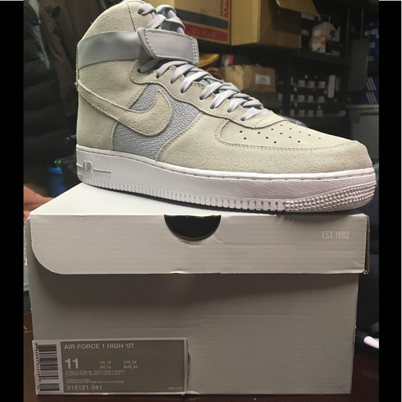 Nike Shoes | Gray Suede Air Force Ones